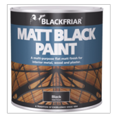 BLACKFRIAR MATT BLACK 125MLS