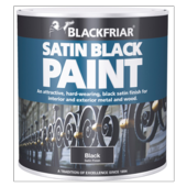 BLACKFRIAR SATIN  BLACK 125MLS