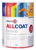 ZINSSER ALL COAT EXTERIOR SATIN WHITE 5LITRE