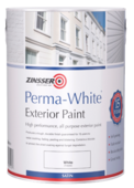 ZINSSER PERMA WHITE EXTERIOR SEMI GLOSS 2.5LITRE