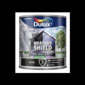 DULUX W/SHIELD MULTI SURFACE SATIN BLACK 2.5L