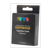 RUST-OLEUM CHALK  WHITE BOX 12