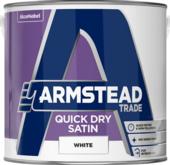 ARMSTEAD TRADE QUICK DRY SATIN B/WHITE 2.5L