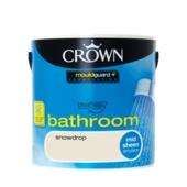 CROWN BATHROOM SHEEN SNOWDROP 2.5L