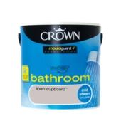 CROWN BATHROOM SHEEN LINEN CUPBOARD 2.5L