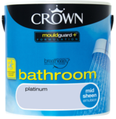 CROWN BATHROOM SHEEN PLATINUM 2.5L