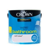 CROWN BATHROOM SHEEN SOFT STEEL 2.5L