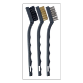 HARRIS MINI WIRE & NYLON 3 BRUSH SET