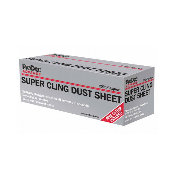 RODO SUPERCLING DUST SHEET 200SQ METRES
