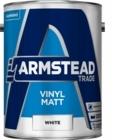Armstead Vinyl Matt White