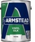 Armstead Vinyl Silk White