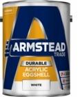 Armstead Durable Acrylic  Eggshell