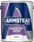 Armstead Quick Dry Satin