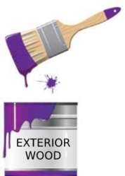 Paint for exterior wood