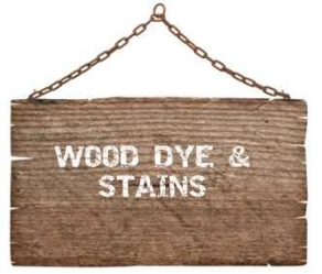 Wood dye & stains