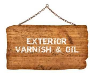 Exterior varnish & oil
