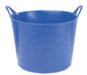 HARRIS ROUND TUBBIE SMALL FLEXIBLE TUB 14L BLUE