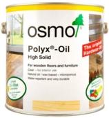 OSMO POLYX-OIL CLEAR 3065 SEMI-MATT  750MLS