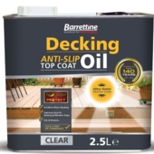 BARRETTINE DECKING ANTI SLIP DECKING OIL  2.5LITRE