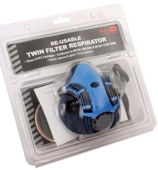 RODO TWIN HALF MASK RESPIRATOR A1P2 FILTER