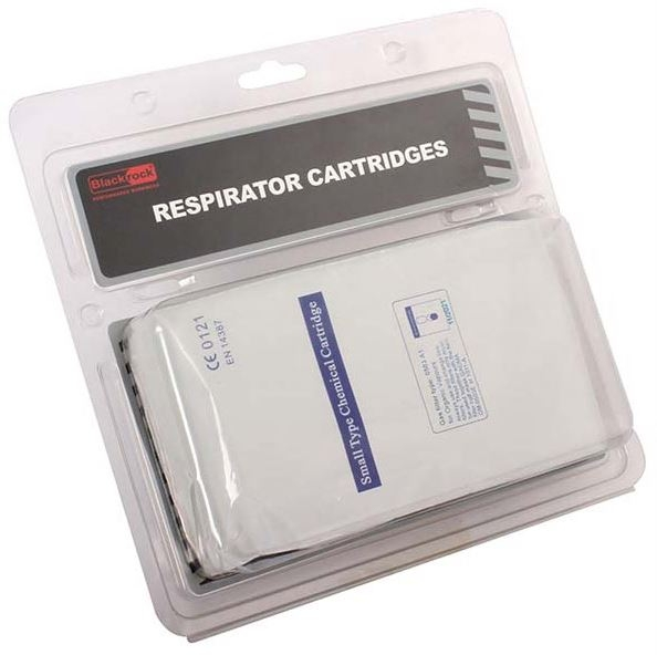 RODO FILTER CARTRIDGES FOR RESPIRATOR TWIN PACK