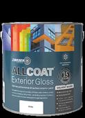 ZINSSER ALLCOAT EXTERIOR SOLVENT GLOSS WHITE 2.5L