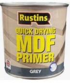 RUSTINS MDF PRIMER GREY 500MLS