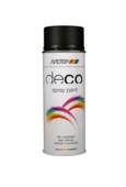 Deco Matt Deep Black RAL 9005 400ml