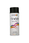Deco Satin Matt Deep Black RAL 9005 400ml