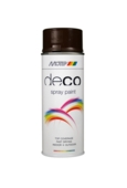 Deco High Gloss Chocolate Brown RAL 8017 400ml