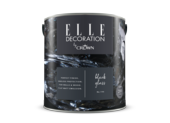 Crown Elle Decoration Flat Matt Black Glass 194 2.5l