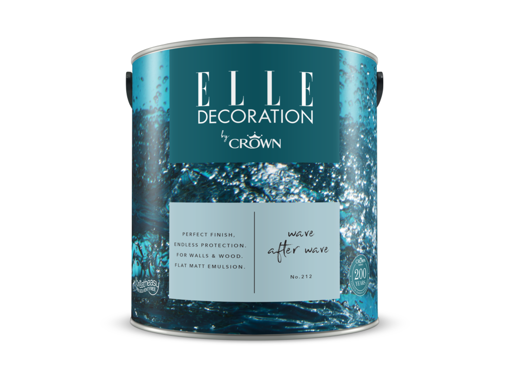 Crown Elle Decoration Flat Matt Wave After Wave 212 2.5l