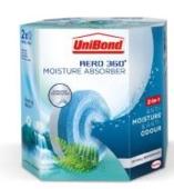 UNIBOND AERO 360 MOISTURE REFILLS  WATERFALL FRESHNESS