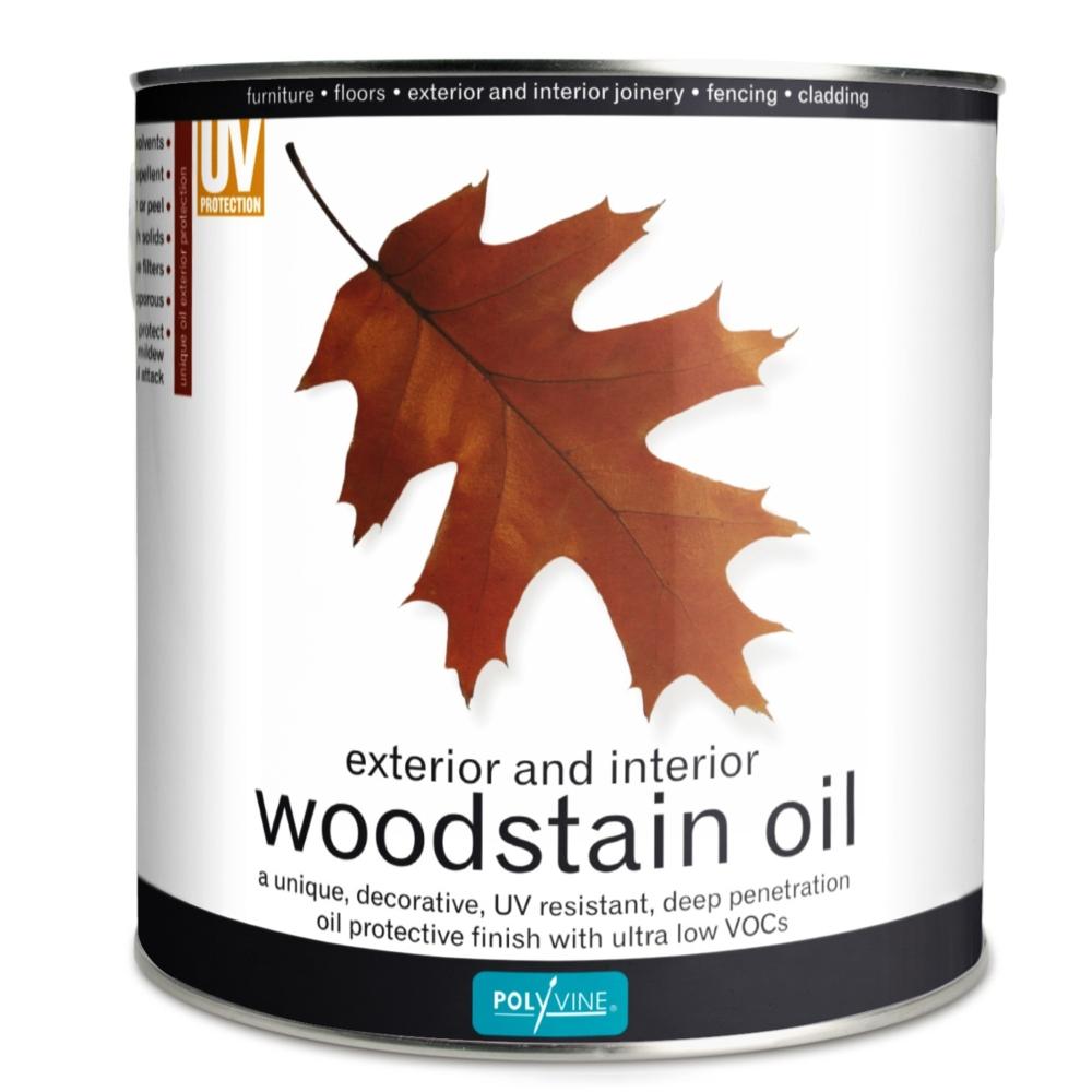 POLYVINE EXTERIOR WOODSTAIN OIL TEAK 2.5L