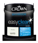 CROWN EASYCLEAN BATHROOM MILK WHITE SHEEN 2.5L