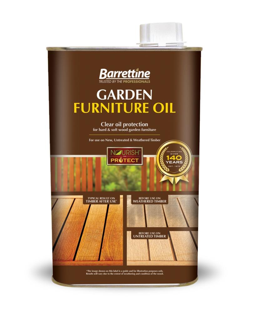 BARRETTINE GARDEN FURNITURE OIL LITRE